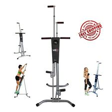 Maxi Climber Vertical Climber w Monitor, Diet Menu, Exercise Manual