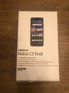 Brand New SEALED Blue Nokia C5 Endi TA1222 64GB UNOPENED Cricket Wireless