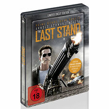 BLU-RAY  THE LAST STAND STEELBOOK - Limited Uncut Edition - FSK 18 - NEU & OVP