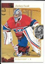 15-16 SP Authentic Premier Prospects 95-96 Retro Gold Zachary Fucale Autograph