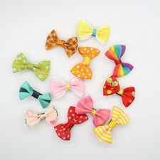20 Pcs/lot Girls Candy Color Kids Bow Alligator Clip Children Hair Accessories