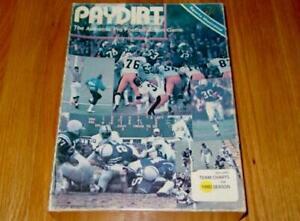PAYDIRT Football game : Sports Illustrated Avalon Hill - 1980 Season NFL Teams