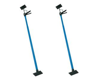 2 x Drywall Plasterboard Builders Adjustable Easy Props 1.15 - 2.9m 40kg