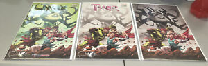 MIGHTY THOR #700 GREG LAND UNKNOWN BRAIN TRUST 3 PACK EXCLUSIVE VARIANT SET