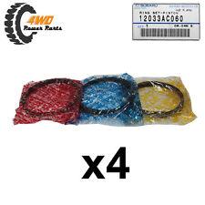Subaru Genuine OEM Ring Set x4 12033AC060
