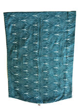 Seven Baby Sling Teal Green White Peacock Feather Print Size 5 Large