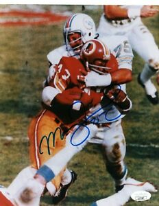 MANNY FERNANDEZ SINGLE SIGNED 8X10 PHOTO JSA COA AUTO AUTOGRAPH MIAMI DOLPHINS