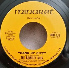 "Berkeley Kites Minaret 132 ""HANG UP CITY""   (GREAT ROCK N ROLL 45) PLAYS GREAT"