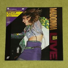 MADONNA The Virgin Tour Live - JAPAN 2nd PRESS 1989 LASERDISC + OBI (35P6-9016)