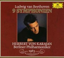 Beethoven / Karajan / Bpo - Symphonies 1-9 [New CD] Holland - Import