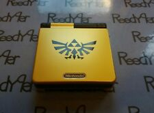 Gold & Black Zelda GameBoy Advance SP *MINT* AGS-001 Custom Nintendo System gba