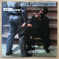 KRS-One Signed Boogie Down Productions Ghetto Music: The Blueprint of Hip Hop LP
