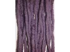 Heather dreadlocks - 16 Handmade felted merino wool double ended dreads