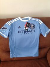 adidas new york city football club mls soccer jersey Nwt Size M youth