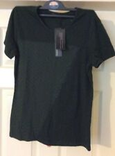 Ladies Dark Green Top Size M (Pit To Pit 17 Inches)