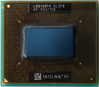 Intel Mobile Celeron 433 MHz Processor Micro PGA 2 128KB Cache 100MHz FSB SL3KB