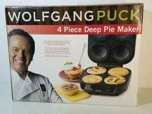 Wolfgang Puck 4 Piece Deep Pie Maker Cupcakes Muffins CCPM0040