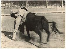 Photo George Arles - Corrida - Domingo Ortega - Tirage argentique d'époque -