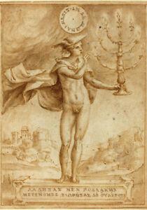 Harpocrates Greek Representation Of God Horus Painting Canvas Fine Art Print