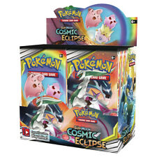 10 COSMIC ECLIPSE Booster Pack Lot - Factory Sealed From Box Pokemon Cards