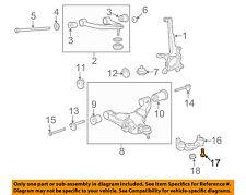 TOYOTA OEM 07-17 Tundra Front Suspension-Control Arm Bracket Bolt 90105A0135