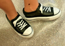 Sindy Doll BLACK  Converse Trainers sneakers Shoes 1/6 Sindy/Similar Size  Pumps