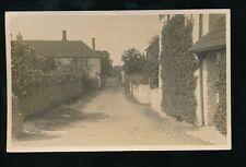 Somerset BOSSINGTON Village near Porlock 1921 RP PPC