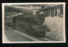 Somerset BATH RAILWAY loco #4075 with train 1953 photograph