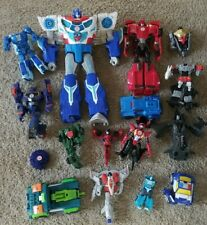 Huge Lot of Modern Transformers Incomplete Action Figures Body Parts Accessories