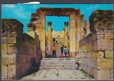 Jordanien Jordan used Post Card Postkarte Bauwerk building Jerash [cm590]