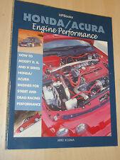 VGC Honda Acura Engine Performance D B H Engine Modification Handbook Manual