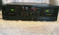 More details for sony tc-wr870 double stereo cassette deck