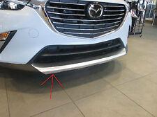 Mazda CX-3 2016 New OEM front lip accent  genuine accessories DD2F-V3-890A