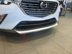 Mazda CX-3 2016 New OEM front lip accent  genuine accessories DD2F-V3-890A