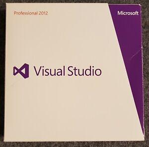 Microsoft Visual Studio 2012 Professional - Englisch-  SKU: C5E-0083 -inkl. MwSt