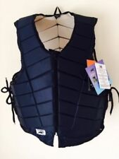 ADULT HORSE RIDING BODY PROTECTOR WITH ADJUSTABLE SIDE LACES SMALL TO X-LARGE.N