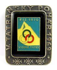 1970 FIS Nordic World Ski Championships Vysoke Tatry High Tatra Official Badge