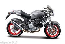 Ducati Monster S4 grau, Maisto Motorrad Modell 1:18, OVP, Neu