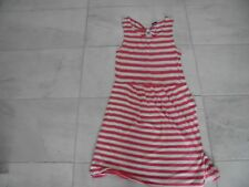 TU Ladies coral and white stripped sleeveless dress size 14