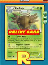 Shedinja Support Set ( Cursed ) - for Pokemon TCG Online ( ptcgo in Game Card)