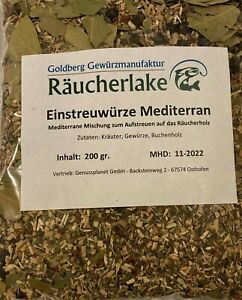 Einstreuwürze, Räucherzusatz, Räuchergewürz, Räuchern, Kräuter Gewürze Mediteran