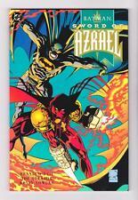 BATMAN : SWORD of AZRAEL TRADE PAPERBACK GOLD EDITION (NM+) SHIP FREE with BIN)*