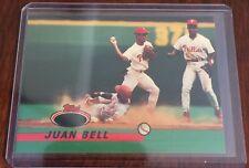 1993 Topps Stadium Club Juan Bell No Foil Error