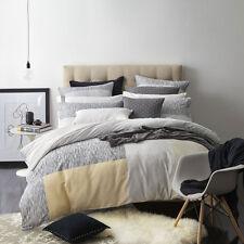 ROYAL DOULTON ATTICA CHALK Queen Size Bed Doona Duvet Quilt Cover Set RRP $199