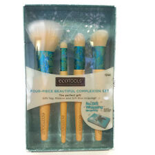 ECOTOOLS 4 PIECE BEAUTIFUL COMPLEXION BRUSH SET (gift tag,ribbon & gift box)