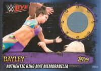Topps WWE SLAM ATTAX 10 10TH EDITION RING MAT MEMORABILIA + COLLECTORS CARDS