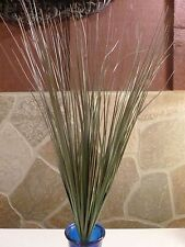 """Vintage Home Interiors Onion Grass Bush 18"""" Tall with 125 Leaves"""
