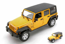 Jeep Wrangler Unlimited 2015 Yellow 1:24 Model 31268Y MAISTO