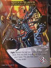 2015 Upper Deck Marvel 3D Legendary Spider-Slayer Henchman Villain NM-Mint