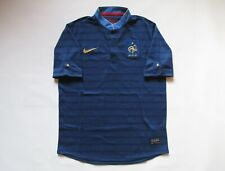 FRANCE EURO 2012/2013 AWAY FOOTBALL SHIRT SOCCER JERSEY MAILLOT FFF NIKE BOYS L